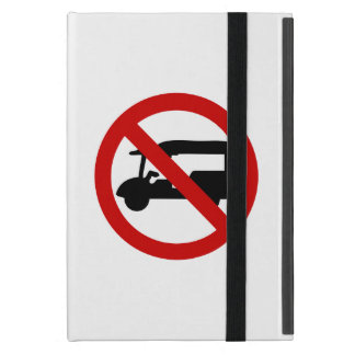 NO Tuk-Tuk TAXI ⚠ Thai Road Sign ⚠ iPad Mini Case