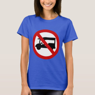NO Tuk-Tuk TAXI ⚠ Thai Road Sign ⚠ T-Shirt