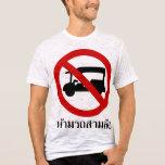 NO Tuk-Tuk TAXI ⚠ Thai Road Sign ⚠ T-Shirt