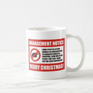 No Turkey This Year Coffee Mug