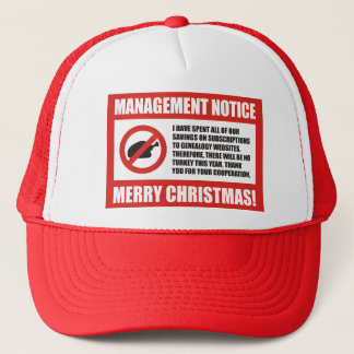 No Turkey This Year Trucker Hat