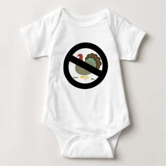 No Turkeys Baby Bodysuit