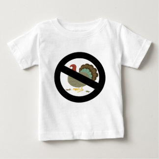 No Turkeys Baby T-Shirt
