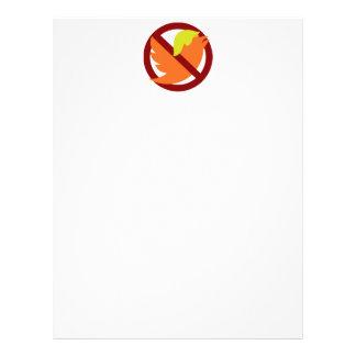 No Tweets Letterhead
