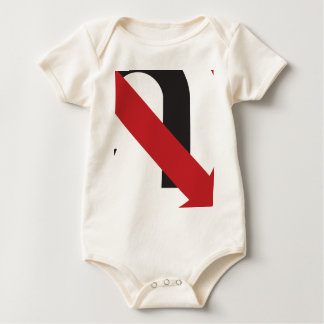 No U Turn Baby Bodysuit