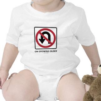 No U-Turn On Growing Older (No U-Turn Attitude) T-shirts