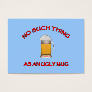 No Ugly Mug Business Card