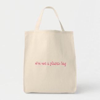 No un bolso de ultramarinos plástico bolsas