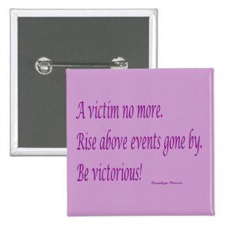 No un botón del cuadrado de la víctima