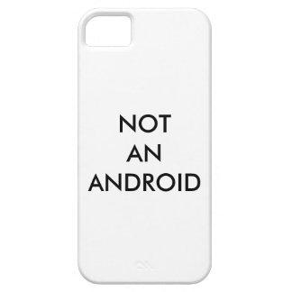 """No"" un caso irónico androide del iPhone iPhone 5 Case-Mate Carcasa"