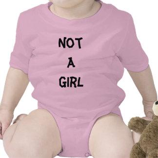 No un chica camisetas