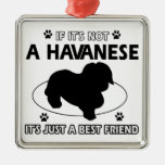 No un havanese ornaments para arbol de navidad