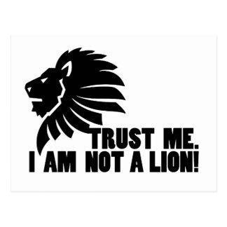 No un león divertido