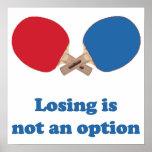 No un ping-pong de la opción impresiones