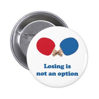 No un ping-pong de la opción pin redondo de 2 pulgadas
