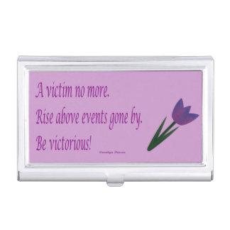 No una caja de la tarjeta de visita de la víctima cajas de tarjetas de presentación