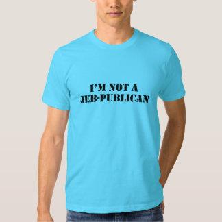 No una camisa del Jeb-Publicano