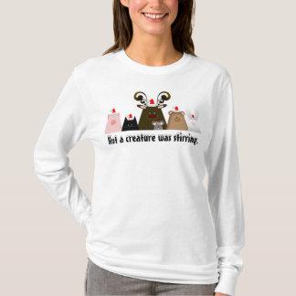 No una criatura revolvía la camisa del navidad
