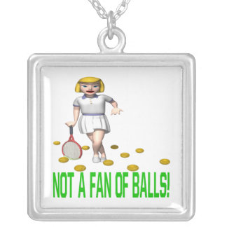 No una fan de bolas colgante cuadrado