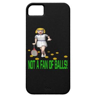 No una fan de bolas iPhone 5 fundas