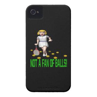 No una fan de bolas Case-Mate iPhone 4 carcasas