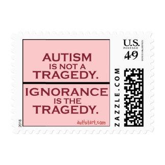 No una tragedia sella estampillas
