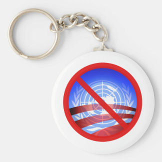 No United Nations Approval Needed! Keychain