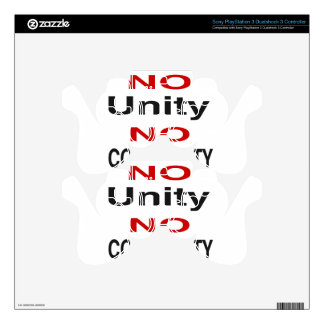 No unity no community skin for PS3 controller