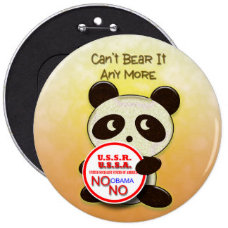 No USSA Socialism Buttons
