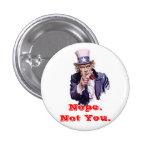 No usted pins