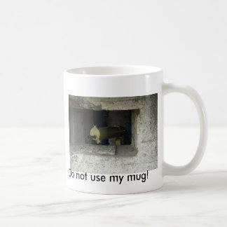 ¡No utilice mi taza! Taza