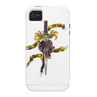 No va la mercancía apacible Case-Mate iPhone 4 carcasa