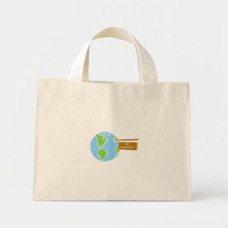 no vacancy mini tote bag