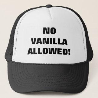 NO VANILLA ALLOWED! TRUCKER HAT