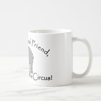 No vaya al circo tazas de café