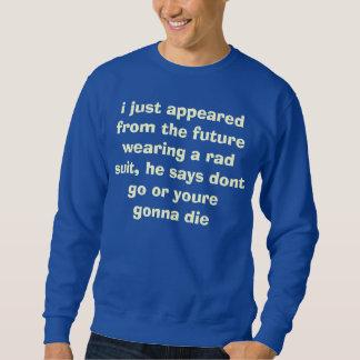 no vaya al futuro suéter