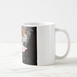 No vaya suavemente taza básica blanca