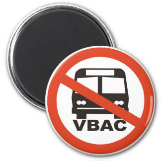 NO VBACs under the bus Magnet