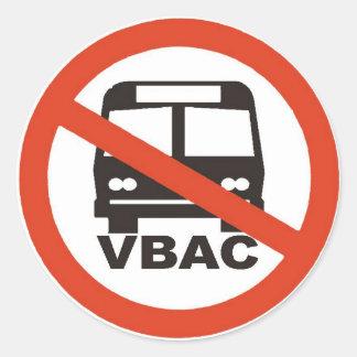 No VBACs under the bus - Sticker