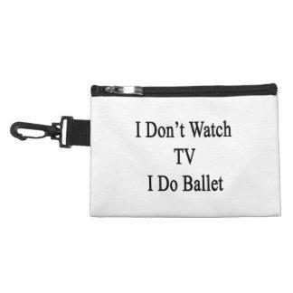 No veo la TV que hago ballet