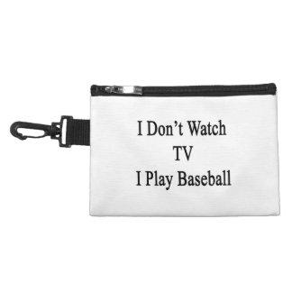 No veo TV I jugar a béisbol