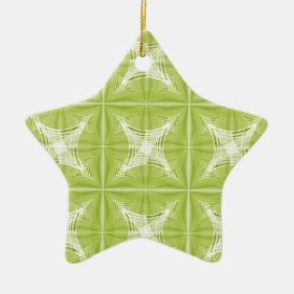 No. verde 1 del diseño creado por Tutti Adorno Navideño De Cerámica En Forma De Estrella