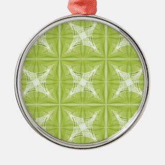 No. verde 1 del diseño creado por Tutti Adorno Navideño Redondo De Metal