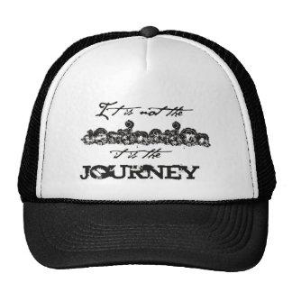 no viaje del destino gorras