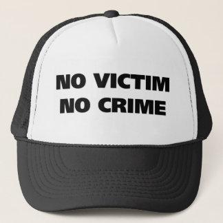 No Victim No Crime Hat