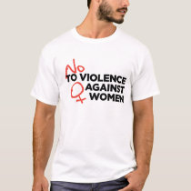 """No Violence against Women"" T-shirt"
