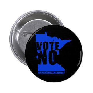 no vote NINGUNA ENMIENDA del ODIO de la BODA del m Pins
