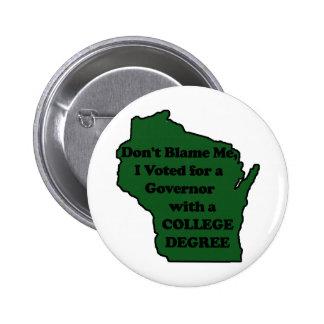No voté por el Pin del verde del caminante