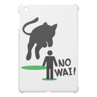 No Wai! CAT ACK! iPad Mini Cases