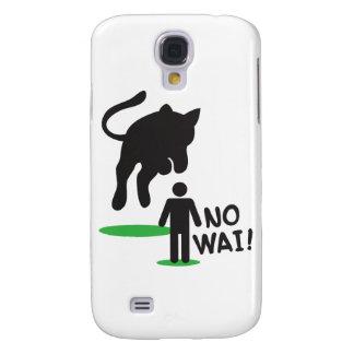 No Wai! CAT ACK! Samsung Galaxy S4 Cover